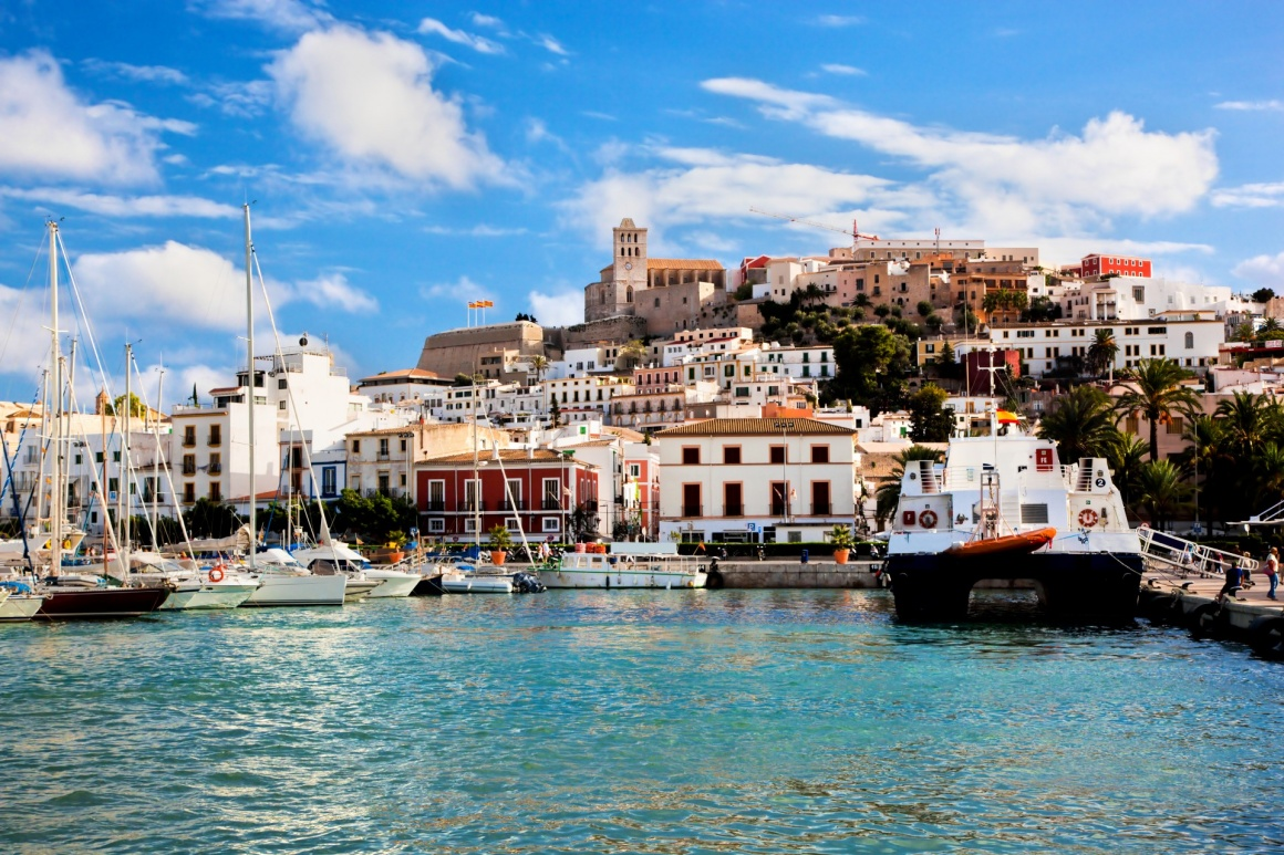 'Panorama of Ibiza old city - Eivissa. Spain, Balearic islands' - Ibiza