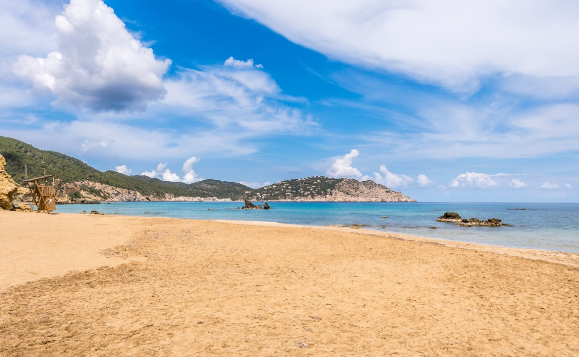 'Figueral beach in Ibiza, Spain' - Ibiza
